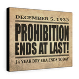 Printify Canvas Prints 14″ × 11″ Prohibition Canvas Print