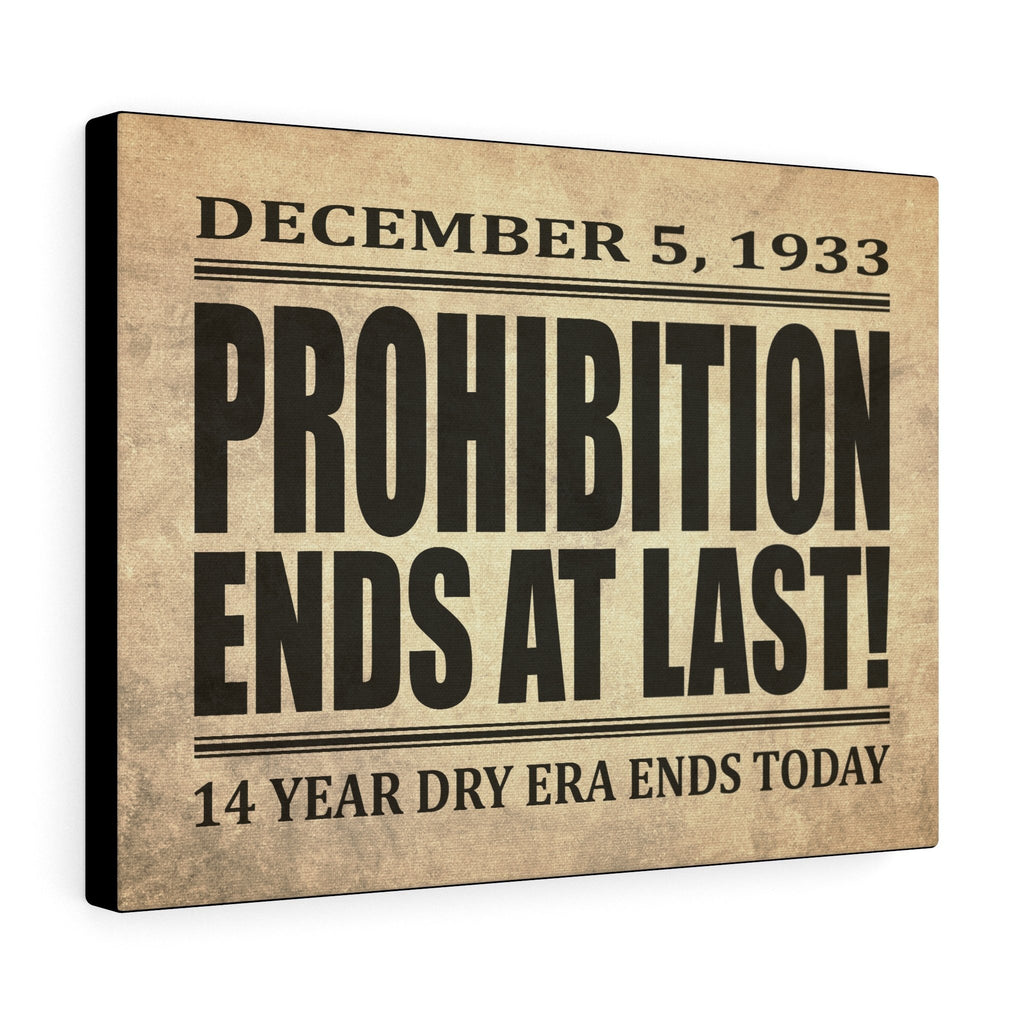 Printify Canvas Prints 16″ × 12″ Prohibition Canvas Print