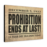 Printify Canvas Prints 24″ × 18″ Prohibition Canvas Print