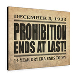 Printify Canvas Prints 30″ × 24″ Prohibition Canvas Print