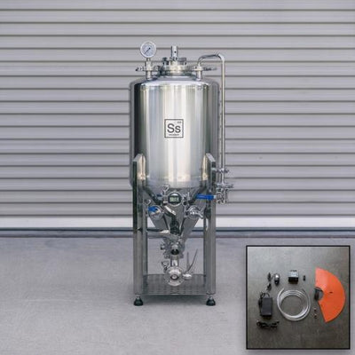 SS Brewtech Brite Tanks Ss Brewtech Unitank - 14 gal (With Heating & Chilling Package