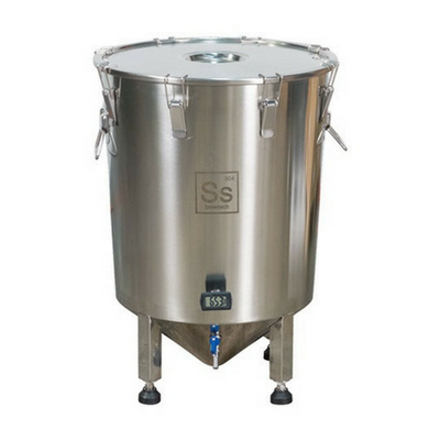 SS Brewtech Conicals & Stainless Fermenters 14 gal Brew Bucket Brewmaster Edition Fermenter