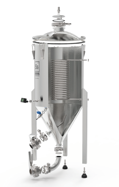 SS Brewtech Conicals & Stainless Fermenters 14 gal Chronical Brewmaster Edition Fermenter