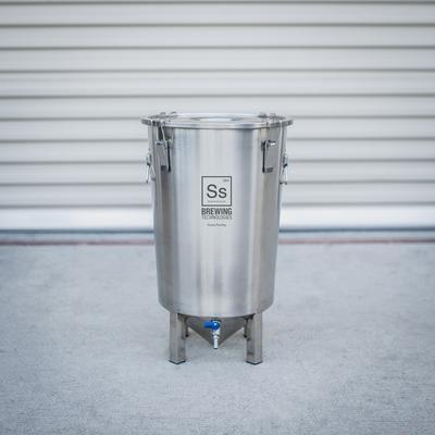 SS Brewtech Conicals & Stainless Fermenters 7 gal | Brew Bucket Brewmaster Edition Fermenter