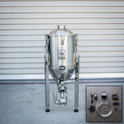 SS Brewtech Fermentation Vessels 7 Gal Chronical Brewmaster Edition Fermenter with FTS Chilling Package