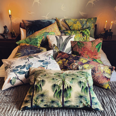 Velvet Cushions from Myles From Home