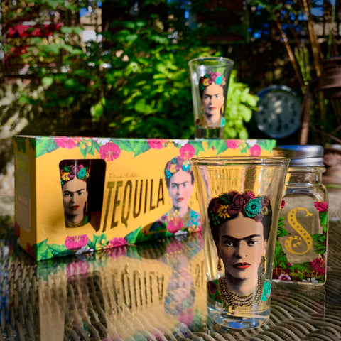 Frida Kahlo Tequila Slammer Set - mylesfromhome.co.uk