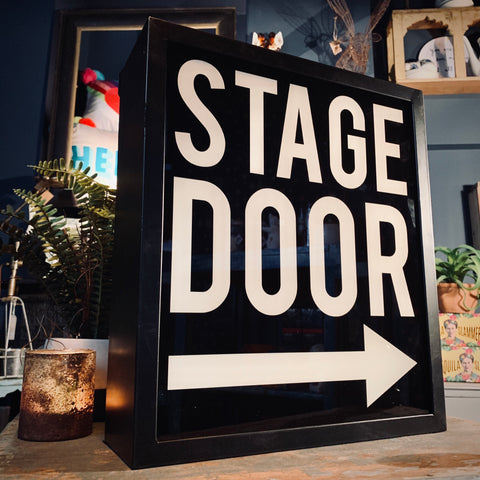 Stage Door Light Box - mylesfromhome.co.uk