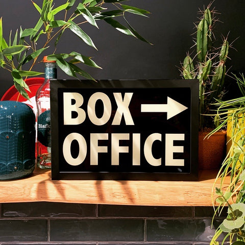 'Box Office' Light Box - mylesfromhome.co.uk