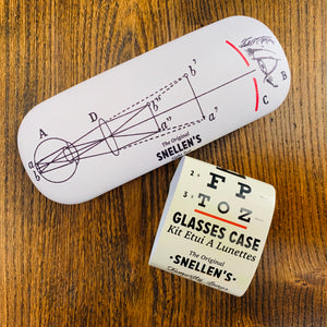Eye Test Glasses Case - mylesfromhome.co.uk
