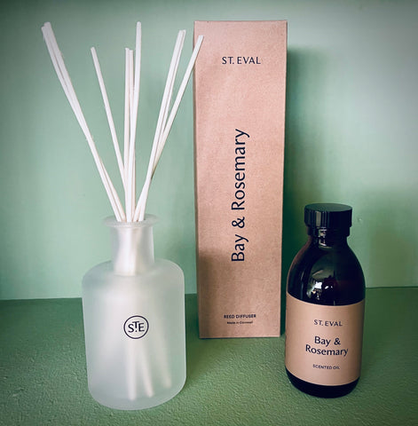 St. Eval Bay & Rosemary Diffuser - mylesfromhome.co.uk