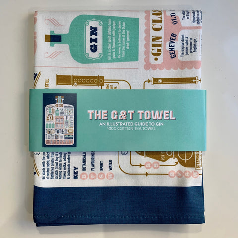 The G&T Tea Towel - mylesfromhome.co.uk