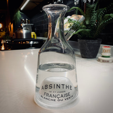 Bistrot Loupe Water Decanter for Absinthe - mylesfromhome.co.uk
