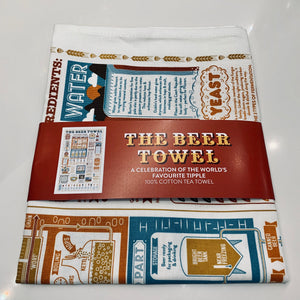 The Beer Tea Towel - mylesfromhome.co.uk
