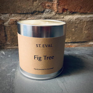 St. Eval Scented Candle Tin: Fig - mylesfromhome.co.uk