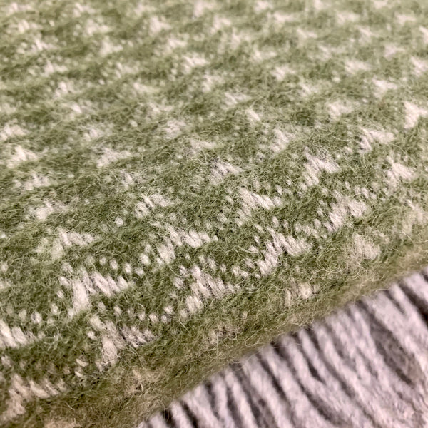 Treetop Olive Throw - mylesfromhome.co.uk