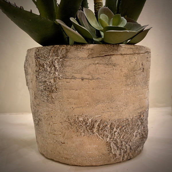 Faux Succulent Mixed Pot - mylesfromhome.co.uk