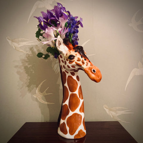 Ceramic Giraffe Vase - mylesfromhome.co.uk