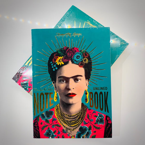 Frida Kahlo Notebook - mylesfromhome.co.uk