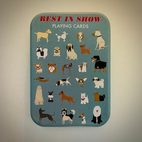 'Best in Show' Playing Cards in a Tin - mylesfromhome.co.uk
