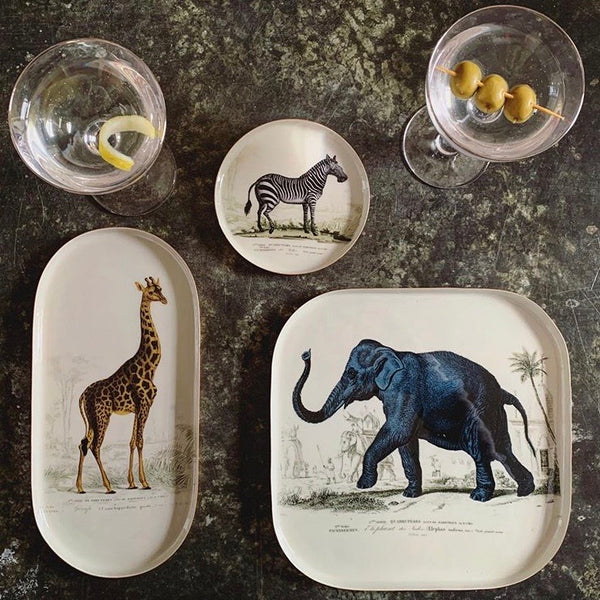 Set of 3 Animal Trays - mylesfromhome.co.uk