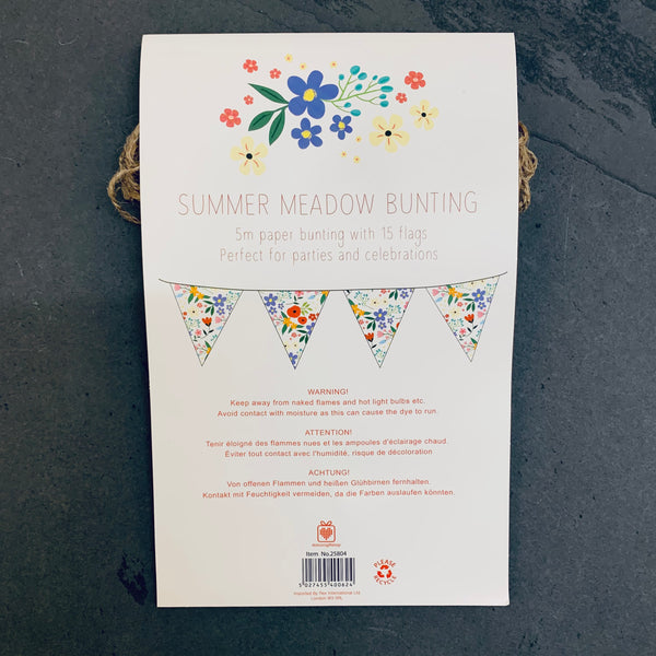 Summer Meadow Paper Bunting - mylesfromhome.co.uk
