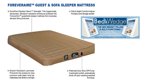 Automatic Sleeper Sofa Full Size Air Mattress For Rv Sofa Bed Guest