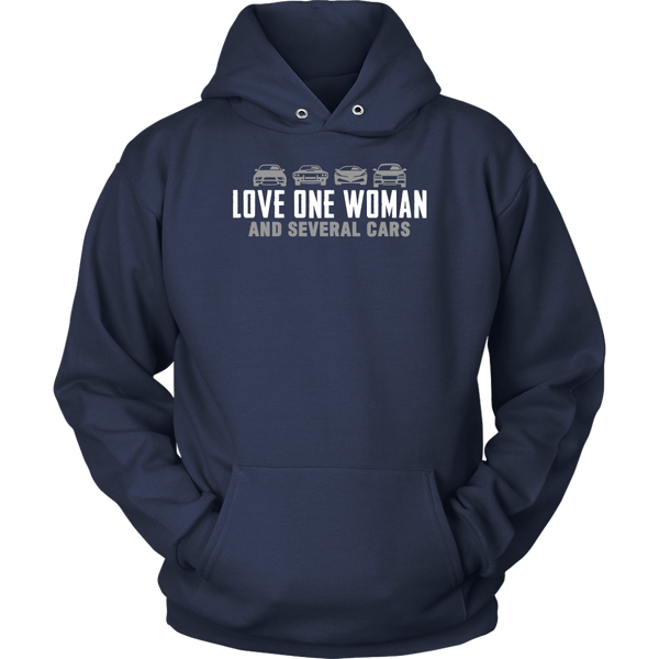 One Woman Several Cars Hoodie