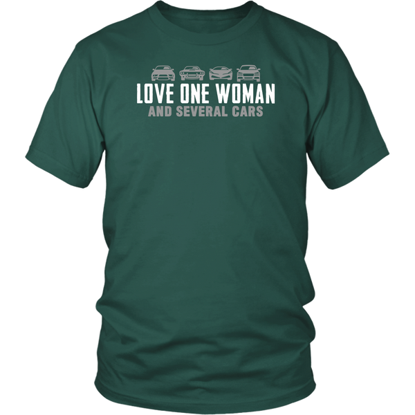 One Woman Several Cars T-Shirt