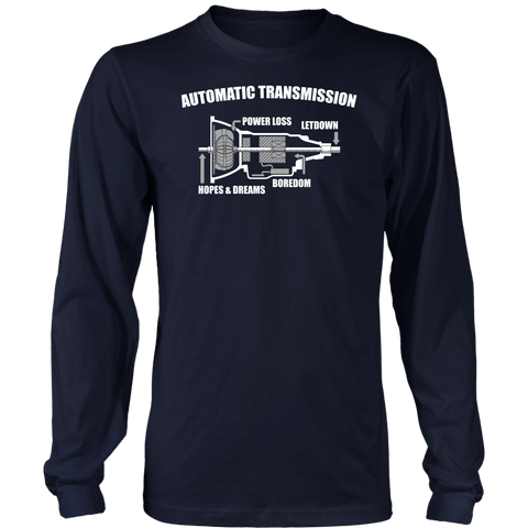 Automatic Transmission Long Sleeve