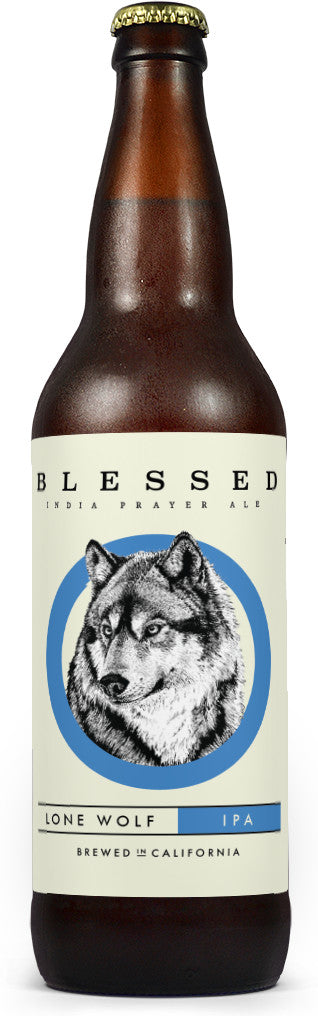 Blessed Brewing Lone Wolf IPA