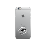 Clear Blessed Logo iPhone case - Blessed Brewing