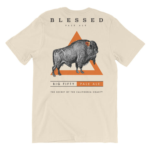 Big Fifty Unisex Short Sleeve T-shirt - Blessed Brewing