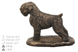 Solid Wood Casket Black Russian Terrier Memorial Urn for Dog's ashes,with Dog statue.Pet Urn(6) - unique.urns_caskets