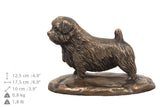 Solid Wood Casket Norfolk Terrier Memorial Urn for Dog's ashes,with Dog statue.(39) - unique.urns_caskets