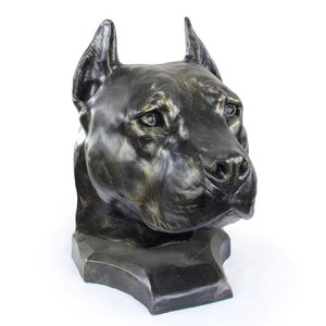 Pet Urns for Ashes - American Staffordshire Terrier (Cropped) (1) - unique.urns_caskets