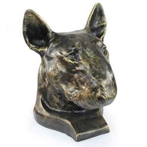Bull Terrier Cremation Urn for Dog's ashes, Unique Pet memorial statue (6) - unique.urns_caskets