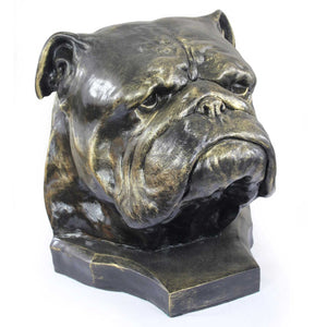English Bulldog Memorial Urn for Dog's ashes, Pet Cremation urn- Statue (4) - unique.urns_caskets