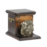 Pet urns for ashes , dog ashes box Bullmastif, Ashes Caskets