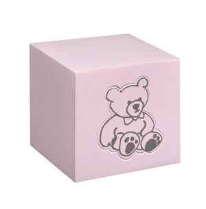 Child and infant  cremation urn for ashes Teddy Bear |Blue|Pink|White . Baby Cremation Urn for ashes. . - unique.urns_caskets