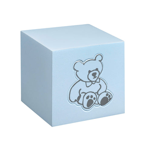 Infant and child cremation urn for ashes Teddy Bear |White|Pink|Blue  Baby Cremation Urns . - unique.urns_caskets