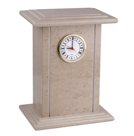 Clock Stone cremation urn for Ashes Gregspol Ltd ST8