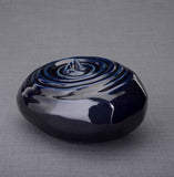 Unique Ceramic Cremation urn for ashes. Stunning memorial funeral Urn for Adult - Resonance - unique.urns_caskets