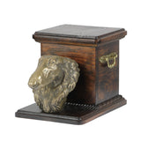 Pet urns for ashes , dog ashes box Borzoi Rusian Wolfhound