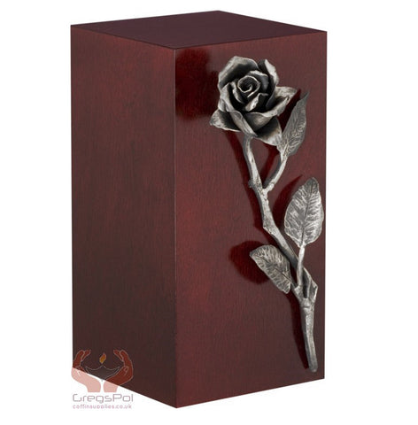 Unique Artistic Cremation Urn Rose- Funeral Urn for Adult Ashes Urn (Art 16S) - unique.urns_caskets