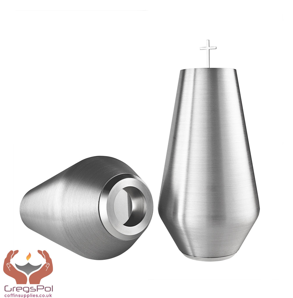 Ignito Designer Cremation urn and its shape resemble a candle flame