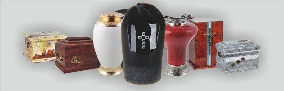 Exclusive Glass Cremation Urns