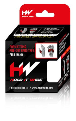 Form Fitting Hand Tape (Full Hand) ***Free Shipping***