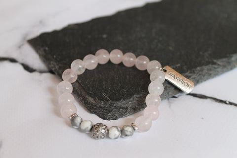 Breast Cancer Warrior Gratitude Bracelet