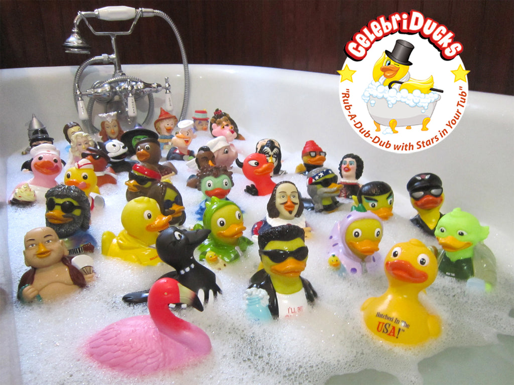 CelebriDucks Rubber Ducky Family Reunion